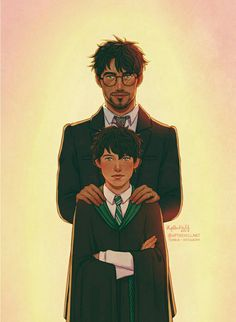 """""""Albus Severus, you were named for two headmasters of Hogwarts. One of them was a Slytherin and he was probably the [biggest fuckwad] I ever knew."""""""