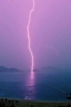 Island off shore of Repulse Bay in Hong Kong during summer monsoon rain storm Nature Pictures, Beautiful Pictures, Beautiful Sites, Thunder And Lightning, Lightning Storms, Lightning Bolt, Monsoon Rain, Wild Weather, Rain Storm