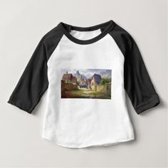 Rural Town My Birthplace Baby T-Shirt - rustic gifts ideas customize personalize