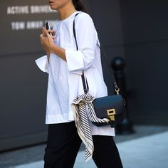 The Right Way To Wear This Season's Most Versatile Top | The Zoe Report