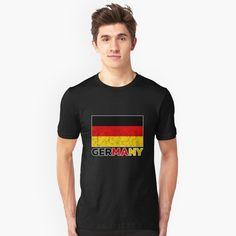 """Funny I Love Baseball, Fantasy baseball gift "" T-shirt by elhalawany Germany Shirt, Fantasy Baseball, Sport Casual, Funny Me, Funny Design, Cotton Shorts, Tshirt Colors, V Neck T Shirt, Classic T Shirts"