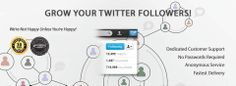 Buy Twitter Followers From BuyingTweeps. Buy Twitter Followers from us today only quality Twitter Followers. 1000's of happy customers, join them today.
