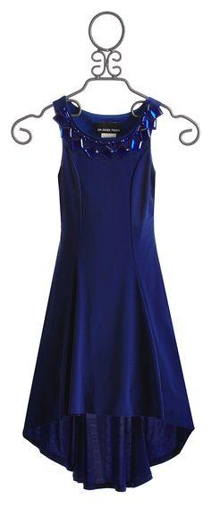 Un Deux Trois Girls Special Occasion Dress Cobalt Blue $102.00