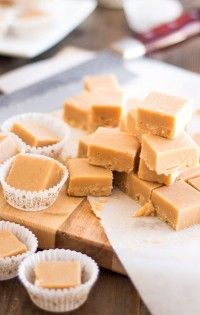 Paleo Toasted Coconut Fudge   thehealthyfoodie.com