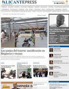 >Portada del 25-04-2016< #Noticias #Alicante #Spain