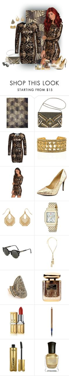 """Fashion ✨"" by califorina-girl ❤ liked on Polyvore featuring Zoffany, Avenue, NLY Trend, Chanel, Penny Loves Kenny, Accessorize, Michele, RetroSuperFuture, Lanvin and Badgley Mischka"