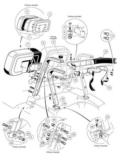 Club: 48 Volt and 3.10 Horsepower..diagram..switches