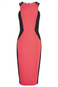 Buy Pink Colourblock Bodycon Dress from the Next UK online shop