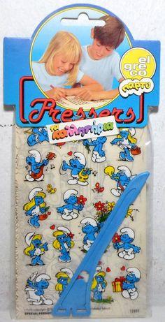 Αστεία κολλητήρια μ'αρέσει να κολλάω και με τους φίλους π'αγαπώ να παίζω να γελάω...εδώ έχω την Στρουμφίτα, τον Μπαρμπα-Στρουμφ πιο πέρα, τον Άστεριξ, τον Όβελιξ και παίζουμε όλη μέρα! Right In The Childhood, 90s Childhood, My Childhood Memories, Sweet Memories, Vintage Games, Vintage Toys, Good Old Times, 90s Nostalgia, 80s Kids