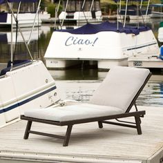 Add some stylish comfort to your patio decor with our Florida Adjustable Chaise…