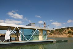 Go Friday Floatwing Floating House Designboom