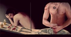 Dean helping Cas after he loses his wings... awwww!!! When Our Wings Are Cut 2 by CARstiel.deviantart.com on @deviantART