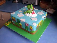 Yoshi, Super Mario Brothers Cake