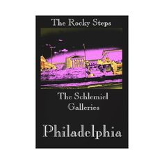 Philadelphia - The Rocky Steps Stretched Canvas Print