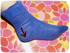 socks tutorial sewing not knitting