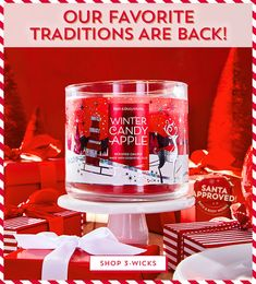 Bath & Body Works: Body Care & Home Fragrances You'll Love Best Home Fragrance, Home Fragrances, Works Shop, Winter Candy Apple, Ultra Shea Body Cream, Bath And Bodyworks, Candy Apples, Athletic Outfits, Candle Making