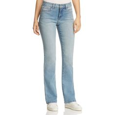 Nydj Barbara Bootcut Jeans in Manhattan Beach ($124) ❤ liked on Polyvore featuring jeans, manhattan beach, boot-cut jeans, boot cut jeans, nydj bootcut jeans, faded jeans and faded bootcut jeans