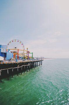 sassafranski:  Santa Monica Pier