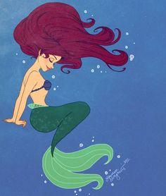 Les 25 ans de La Petite Sirène en 25 fan arts - Actualité - Fanactu.com