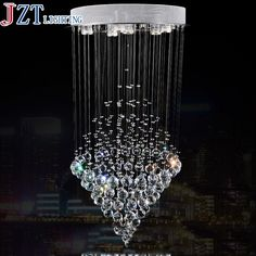 342.63$  Watch here - http://alilvt.worldwells.pw/go.php?t=1000001933009 - M Hot Sale LED Crystal Chandeliers Conic Pendant White Hanging Laparas de LED Luxury Crystal Lighting Banquet Lighting Fixture