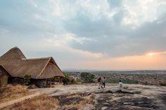 The View Over Lake Mburo, Rwakobo Rock Lodge, Uganda