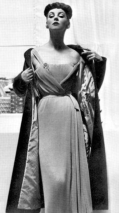 Margaret Phillips in Dior Vogue 1952...