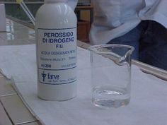 Come usare l'acqua ossigenata