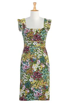 Floral blooms sheath