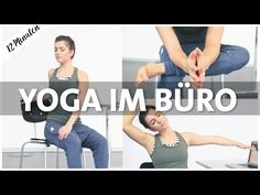 Yoga in the office, office, workplace Sitting lunch break yoga - Yoga Fitness Ideas Pilates Training, Yoga Pilates, Yoga Inspiration, Fitness Inspiration, Yoga Fitness, Flexibility Workout, Exercise Workouts, Exercise Equipment, Workout Exercises