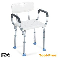 Bathroom Chairs & Stools Fine Aluminum Alloy Shower Chair Bathroom Chairs For Handicap Disabled Elderly Height Adjustable Medical Bath Seat Foot Stool Fine Craftsmanship