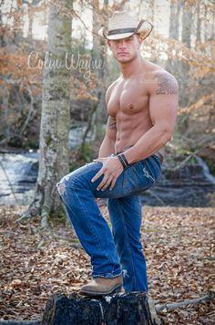 Colin Wayne. Hot Fitness Model. Eros De Deseo