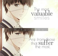 This just makes me super upset because it's Kaneki from TG and you will understand that this quote is so super true if you've watched the anime ;-;