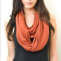 Rust Infinity Scarf ▫️ This soft infinity scarf will leave you feeling cozy all day!   ▫️ Color: Rust Orange ▫️  15% off bundles EVERYDAY!  Accessories Scarves & Wraps