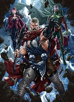 Avengers by Mark Brooks