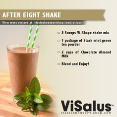 After Eight Shake!
