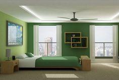 Modern Green Bedroom Design in Simple Decoration Ideas | Visit www.suomenlvis.fi/