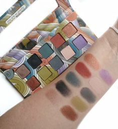 Pacifica Beachy Punk Eyeshadow Palette Swatches