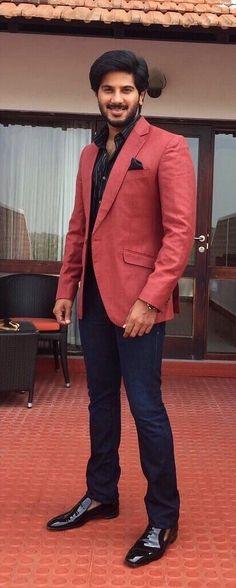 Dulquer Salmaan Famous Indian Actors, Vijay Actor, Actor Picture, Bikini Images, Malayalam Actress, Casual Blazer, Celebs, Celebrities, Celebrity Couples