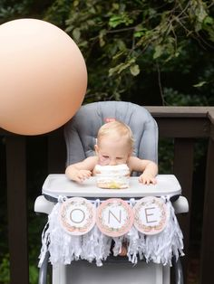 My favorite baby girl in the whole world is officially a toddler! Without a lot of chatter from me, here is Charlie's Floral First Birthday Party!