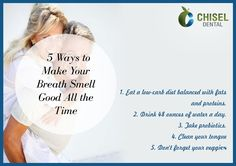How to make your breath smell good