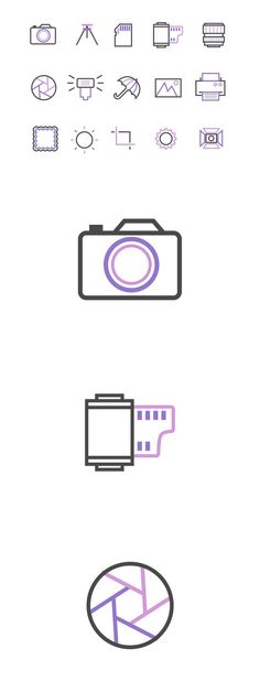 15 Photography Icons