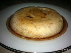 FLAN DE BATATA (CAMOTE)  1 batata chica (camote)  4 claras de huevos  1/2 taza de leche de soya o almendra (sin azúcar o 1 %)  1 cuchara de miel de agave