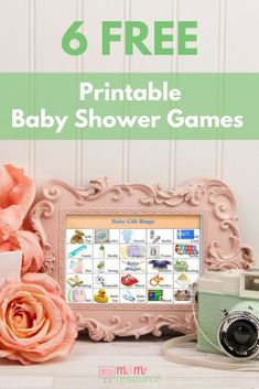 Baby shower bingo printable 80 cards baby shower bingo babies and 6 free printable baby shower games whether you need last minute baby shower games or solutioingenieria Image collections