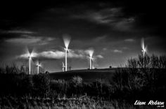 Chemical Mills Black And White Photography, Wind Turbine, Black White Photography, Bw Photography