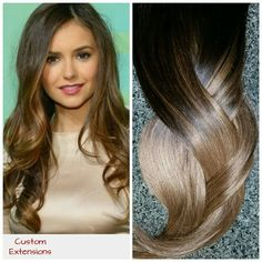 Look at our shop to see our new skin weft clip in hair extensions. This is the NEWEST technology and seamless. Available in our solid hair sets!