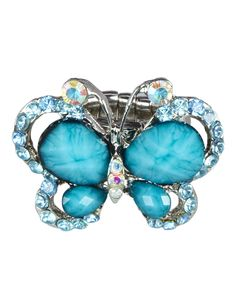 Rhinestone Butterfly Ring | Rings | Jewelry | Shop Justice
