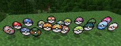 Pixelmon pokeballs