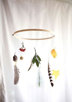 Bohemian Homes: DIY Nature Mobile - Bohemian Homes