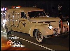 1940 la Salle hearse by classiccadillacchat, via Flickr