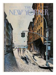 Ohhh, I can feel the streets & smell the air. makes me miss NYC  The New Yorker Cover - October 2, 1978 Premium Giclee Print.